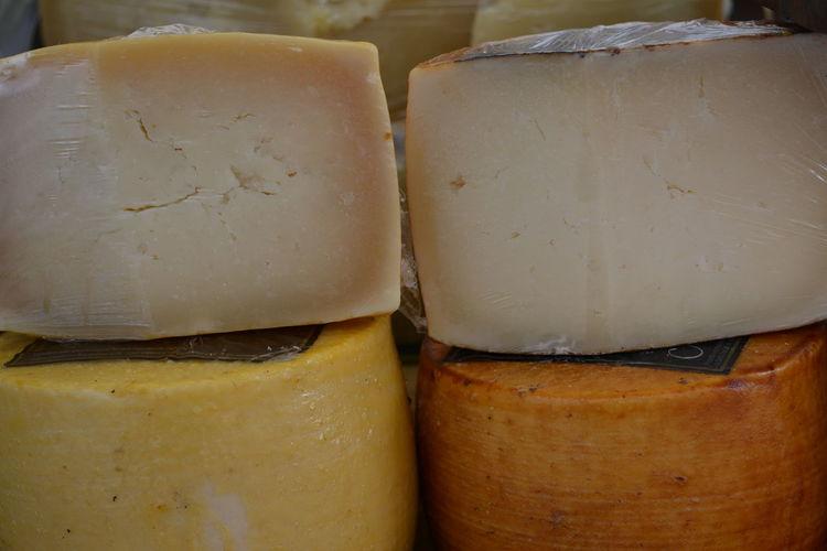 Full frame shot of cheese