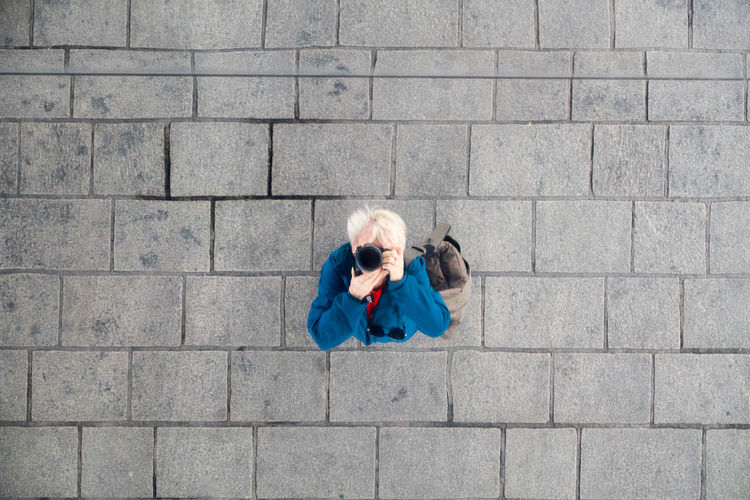 Day Looking Up And Looking Down Marseilles Mirror Roof One Person Outdoors Pavement Patterns Taking My Photo Women