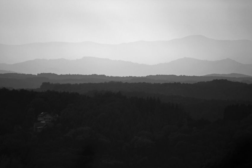 EyeEm Nature Lover EyeEmNewHere Beauty In Nature Canon 750d Canonphotography Day Fog Forest Hazy  Landscape Mountain Mountain Range Myownphotography Nature No People Outdoors Scenics Silhouette Sky Tranquil Scene Tree EyeEmNewHere Second Acts Be. Ready.