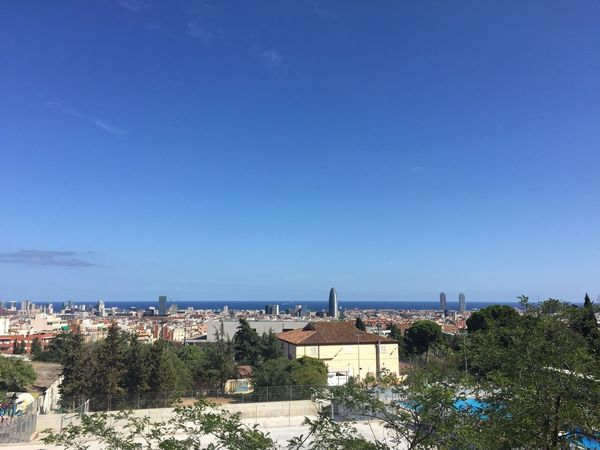 BEUTIFUL VIEW FROM BARCELONA