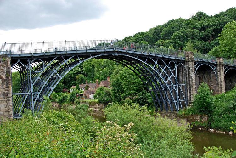 The Ironbridge - Ironbridge, UK No People Day Ironbridge Gorge