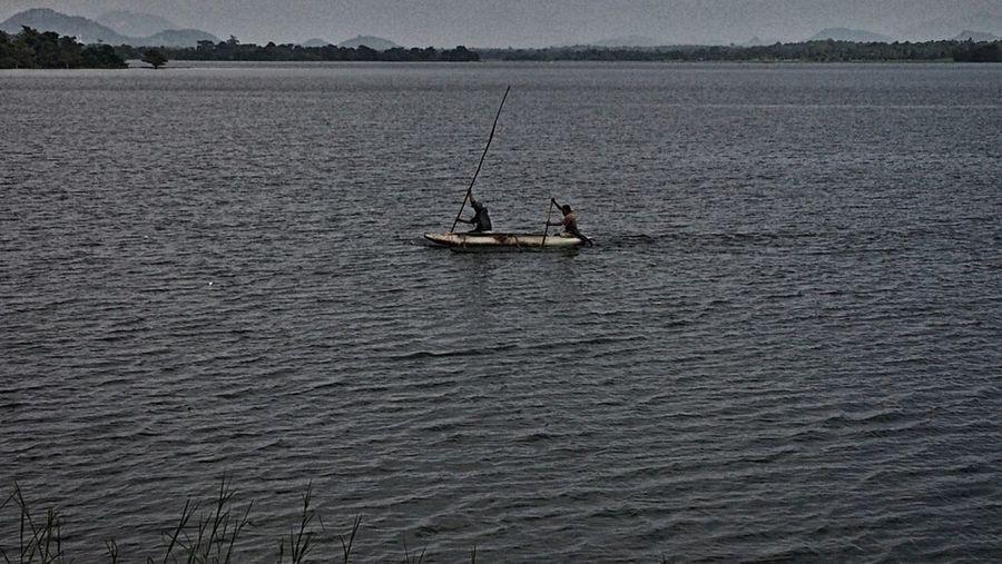 Fishing Boats Rowing Lake Kayak Fishing