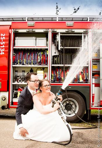 Bruiloft Brandweer First Eyeem Photo
