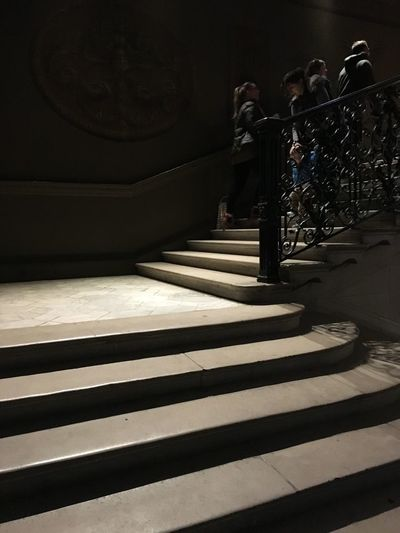 Shadows & Lights Stairs Architecture Built Structure Indoors  Railing Shadow Staircase Steps And Staircases Sunlight