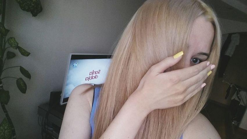 теперь как-то так That's Me New Hair Color New Color Friday WTF Strange Hate My Life  Taking Photos Cheese! Hi!