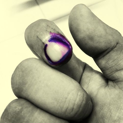 Exercised a right today. Inked Voted! Election2013 Hope