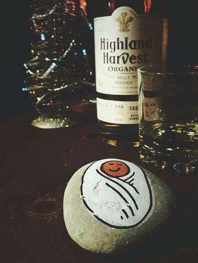 This Is Christmas day 25. Happy Christmas Good Day Jesus Celebrating Kids In Bed All Is Quiet Whiskey Drinking Christmas Celebration Night