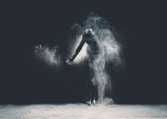 Flour Dance Photoshoot Strobist Art Darkness Market Bestsellers 2017