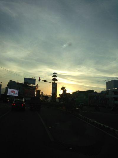 bunderan gajah Bandarlampung City