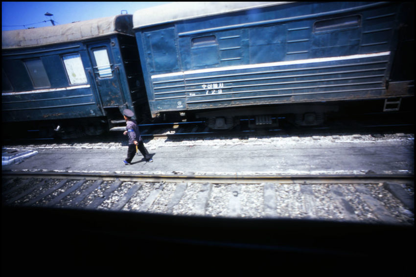 Leaving Pyongyang 35 Mm Analogue Photography DPRK Forbidden Hotel Yanggakdo Juche Kim Jong Un Kim Il Sung Koryo Hotel Lomography North Korea Pyongyang - Beijing Pyongyang Architecture Pyongyang Streets Pyongyang Trains Pyongyang Trainstation Sochu Travel Travel In North Korea Adventure Lomo Old Trains Pyongyang Slide