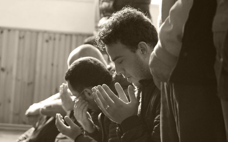 Edu.Art Focus On Foreground Lifestyles Muslim Muslim Culture Muslimah Muslims Muslimworld Muslim❤️ Praying Rear View