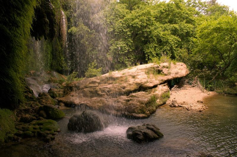 Duden Waterfall Düden Şelalesi Antalya Turkey Rock - Object Nature River Tree No People Stream - Flowing Water Forest Waterfall Water Outdoors Beauty In Nature Moss Growth Scenics