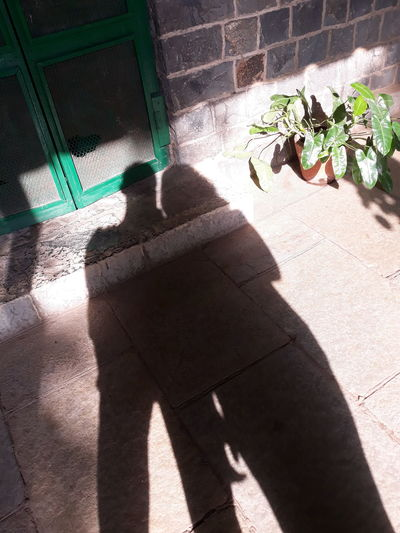 Shadow Sunlight High Angle View Day Outdoors Focus On Shadow No People Architecture Twoshadows SiblingsLove❤
