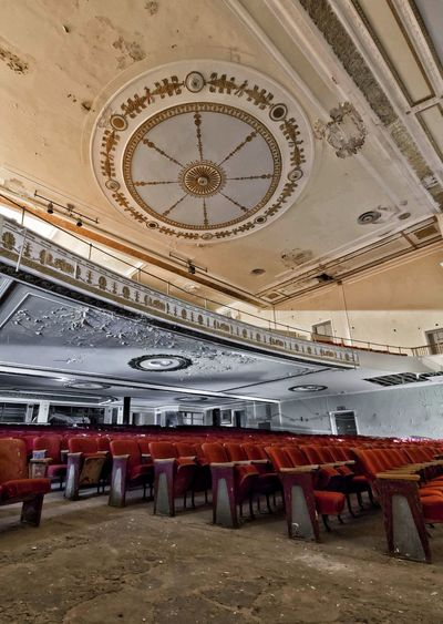 The gutted remains of a historic movie palace in the northeast United States Architecture Old-fashioned Demolitionbyneglect Urban Exploration Urbex Decay EyeEm_abandonment Forgotten Places  Theaters History Architectural Feature Canon7d