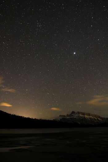 Banff National Park  Alberta Canada Check This Out Stars Nightphotography