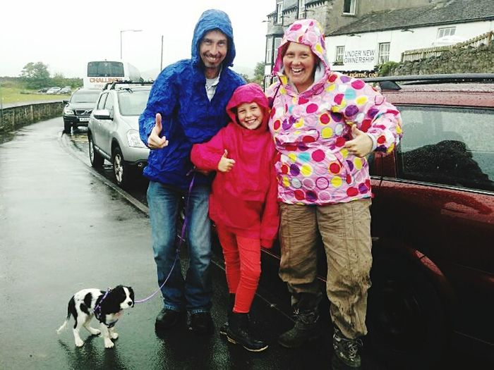 Cagoules Cagoule jacket Waterproof Jacket Family Lakedistrict Arnside Rain Cavalier King Charles Spaniel Fatherhood Moments