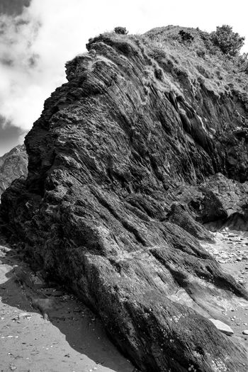 Beauty In Nature Black & White Black And White Cloud - Sky Day Eroded Geology Idyllic Landscape Landscape Portrait Mountain Natural Pattern Nature Outdoors Physical Geography Rock Rock Formation Rocky Rough Scenics Sky Tranquil Scene Tranquility Monochrome Photography