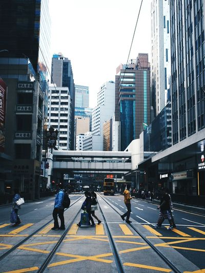 Street​ in​ Hong​Kong​ Street Pepole HongKong Photography Cars Art Film Vscocam Portrait Road