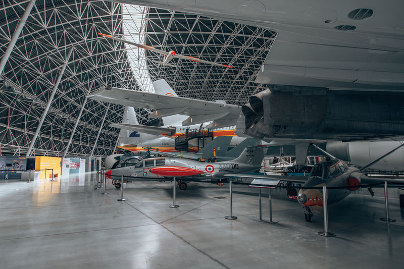 View of industry in museum