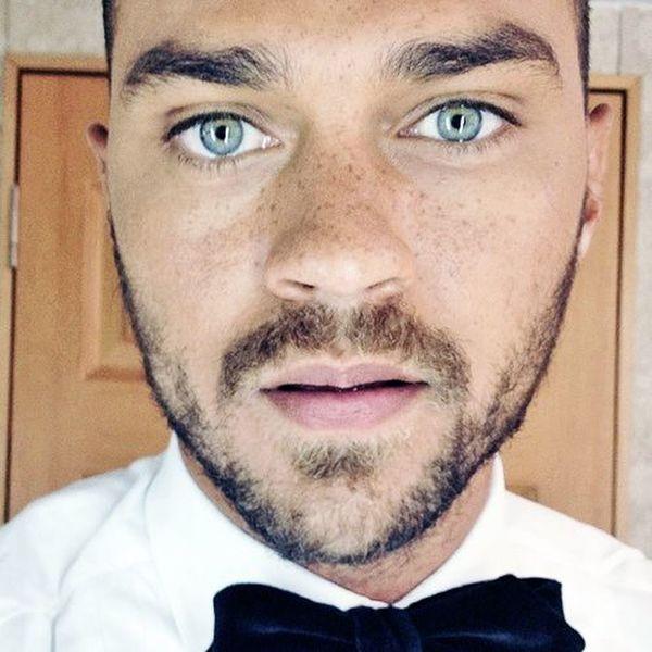Jesse WIlliams Blue Eyes Portrait Grey's Anatomy