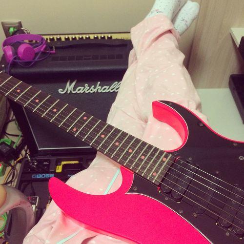 Guitar Ibanez Guitars Ibanez Marshall MarshallAmps Boss Bosspedal Guitar Pedalboard Pedalboard