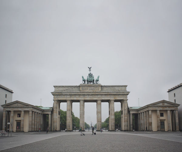 Architectural Column Architecture Berlin Brandenburg Gate Brandenburger Tor Building Exterior Built_Structure Capital Cities  City Gate Clear Sky Couple Day Germany Grey History Long Distance Relationship Love Meeting Moody Moody Sky Outdoors Relationship Sky Statue Travel Neighborhood Map The Street Photographer - 2017 EyeEm Awards The Architect - 2017 EyeEm Awards BYOPaper! Live For The Story Live For The Story Place Of Heart Let's Go. Together. Sommergefühle Breathing Space Your Ticket To Europe Berlin Love Discover Berlin Done That. Connected By Travel Be. Ready. EyeEm Ready   An Eye For Travel Visual Creativity Adventures In The City Adventures In The City Focus On The Story #FREIHEITBERLIN The Architect - 2018 EyeEm Awards The Traveler - 2018 EyeEm Awards