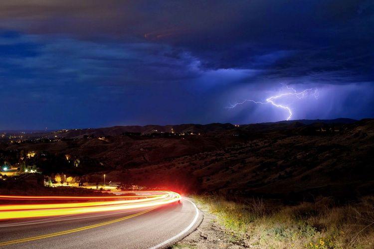 Lightning Storm Boise