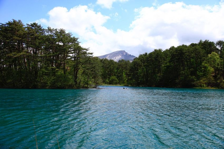 A bluish-green lake. Lake Landscape EyeEm Water Shots EyeEm Nature Lover Mountains Ripples Dedicate To @intreccio Nature ISOPIX EyeEm Best Shots - Landscape