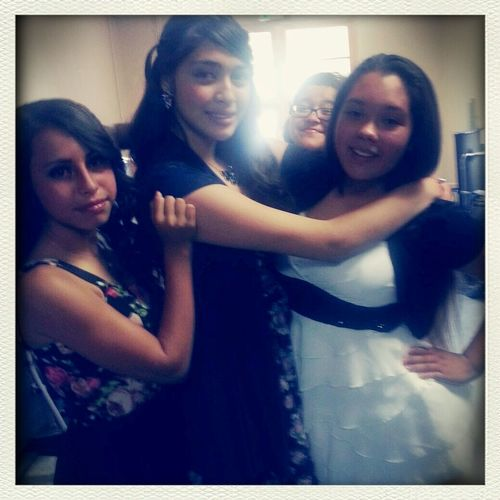 Promotion was the best thanks to the Besties♡ ♥•°•°•★Promoted★•°•°•♥ Freshmen Yr  Yasssssssss <3 First Eyeem Photo