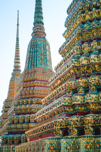 Construction Textured  Thailand Color Colorful Cultures Sky Temple