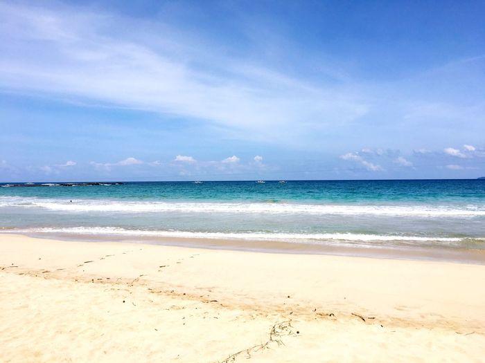 Sea Sand Water Sky Scenics breathtaking