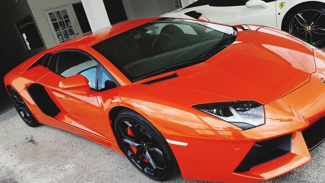 Lamborghini Newoneyeem Picture Pictureoftheday EyeEm Selects EyeEmNewHere Eyeemphotography Exceptional Photographs Exceptional Photography Eyeem4photography Fast Cars Smart Car Fast Car Red Red Car Full Frame Close-up Car Sports Car