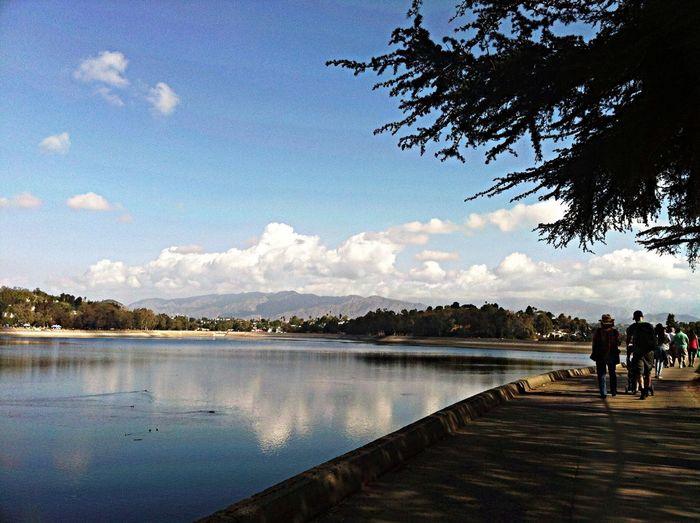 Morning Rituals Walking At Silver Lake