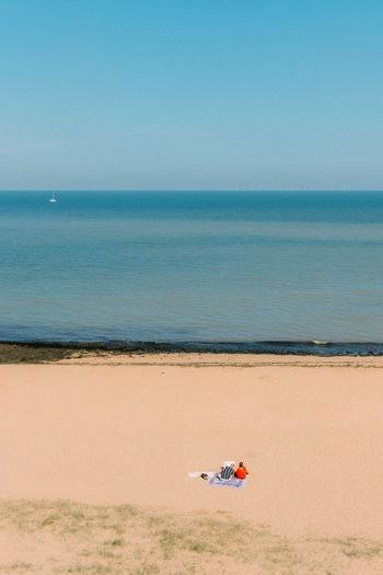Souvenirs, souvenirs Kent Beach Beauty In Nature Clear Sky Day England Fujifilm_xseries Horizon Horizon Over Water Inflatable  Land Leisure Activity Mode Of Transportation Nature Outdoors Sand Scenics - Nature Sea Sky Tranquil Scene Tranquility Transportation Two People Water