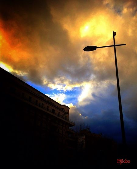 Watching Burning Sky