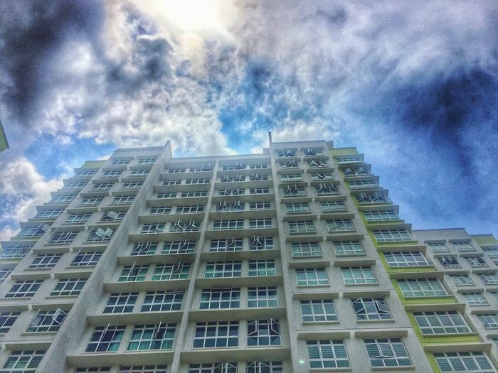 Building Exterior Architecture Low Angle View Sky Built Structure City No People Day Cloud - Sky Outdoors Travel Destinations Building Story Skyscraper Townhouse FourthAvenue CalavryTree