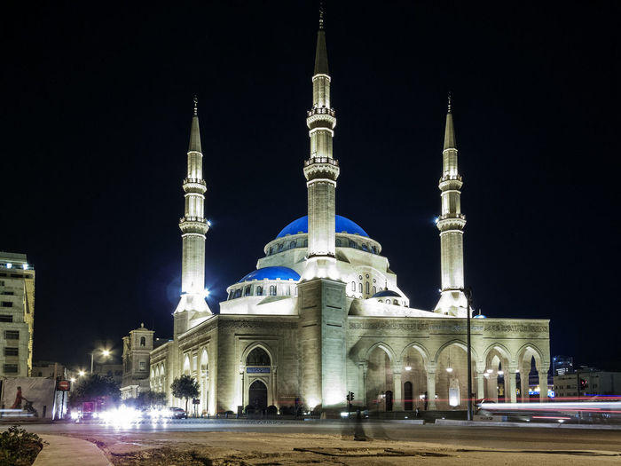 Mohammad Al-Amin Mosque famous landmark in Beirut city Lebanon at night Beirut Central City Downtown Lebanon Mohammad Al-Amin Mosque, Beirut Architecture Beirut Lebanon Building Building Exterior Built Structure City Famous Place Illuminated Islamic Architecture Landmark Lebanese Mosque Muslim Muslim Architecture Night Place Of Worship Religious Architecture Urban