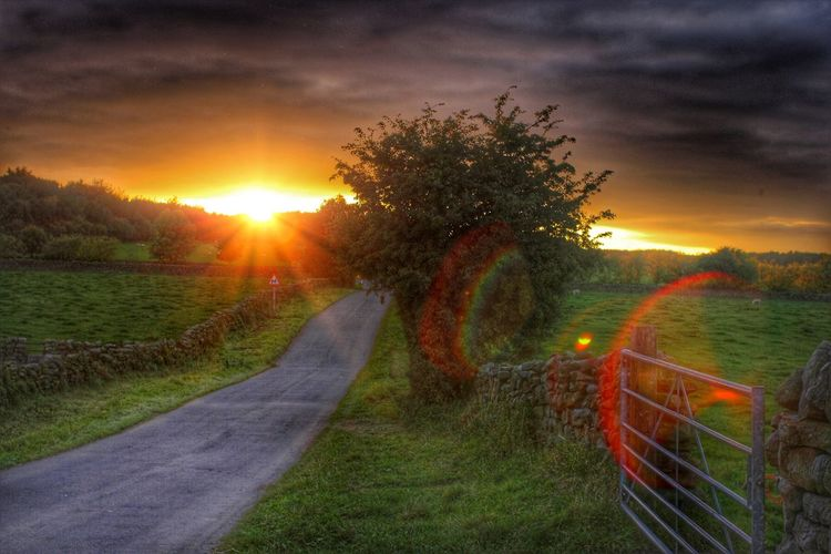Sunsets in the The Dales of Yorkshire Countrylife Countryfile Countryside Englishcountryside Sunsetinyorkshire Countrylanes Sunset_collection Sunset Goldenhour Canon60d