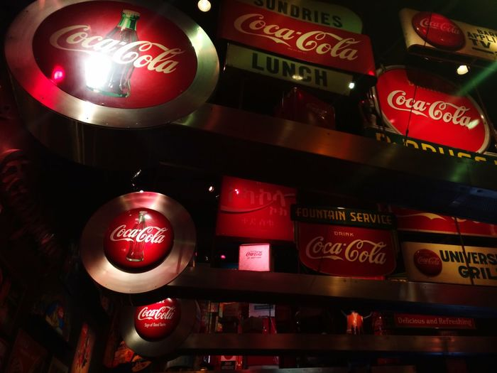 Aynaphotography Worldofcocacola Cocacola Coke Taking Photos Atlanta Atlantatrip