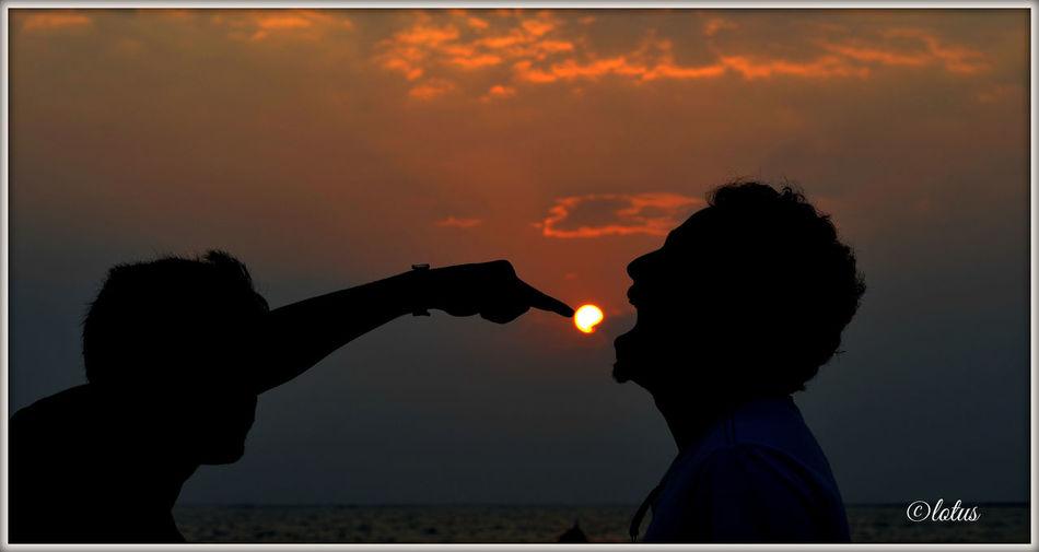 Bangladesh Evening Friends ❤ Friendship St. Martin's Island Sunset Sunset_collection Original Experiences