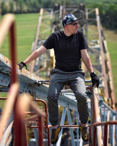 Bagger Urbex Excavator Full Length Leisure Activity Headwear