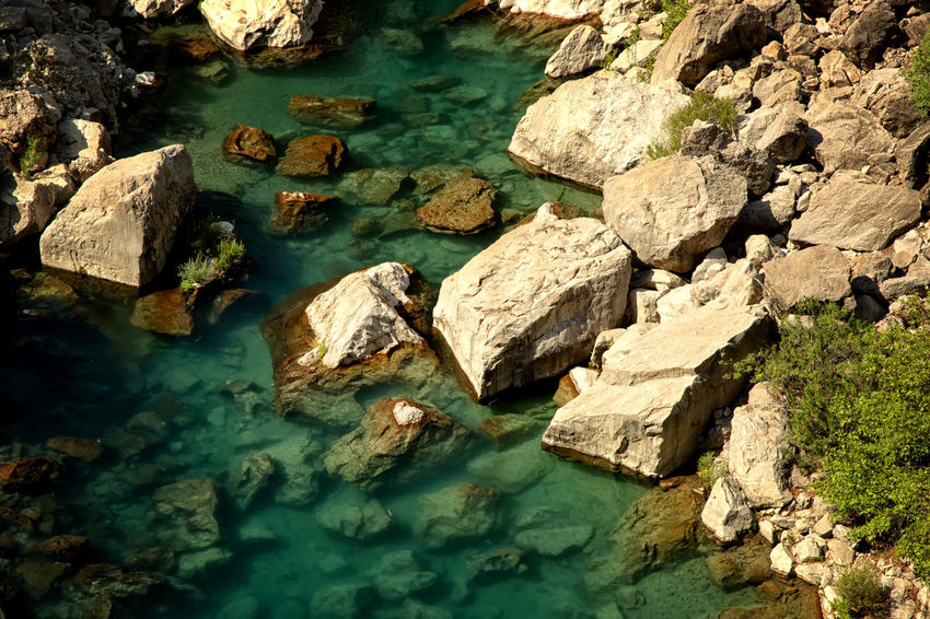 Yerkopru Flowing Waters Flowing Water Mut Turkey Beauty In Nature Flowing River High Angle View Land Nature Pine Tree Rock Rock - Object Rock Formation Scenics - Nature Solid Tranquil Scene Tranquility Turquoise Colored Water Waterfall Waterfront Yerkopruselalesi Yerköprü