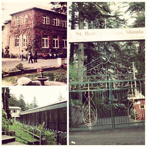 St. Bedes college shimla .. The pride of Shimla.. 😊😃😉 Shimla Sanjauli Navbahar Stbedes Instahimachal Himachalpictures Travelshimla Queenofhillsshimla Kinnaurdiaries