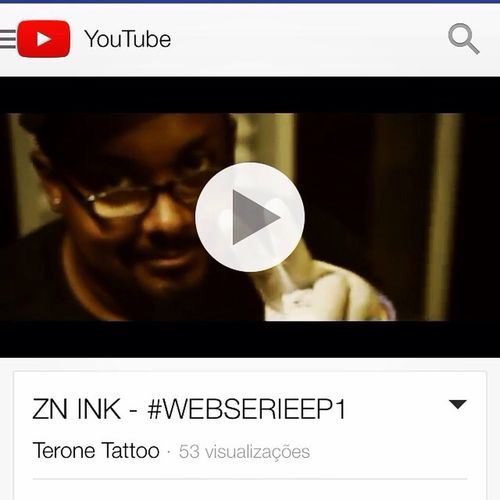 Primeiro episódio da nossa web série ZN Ink - Terone Tattoo https://m.youtube.com/watch?feature=youtu.be&v=yaA5TgWRcdE Znink Teronetattoo Webserie Tatuariarodrigues