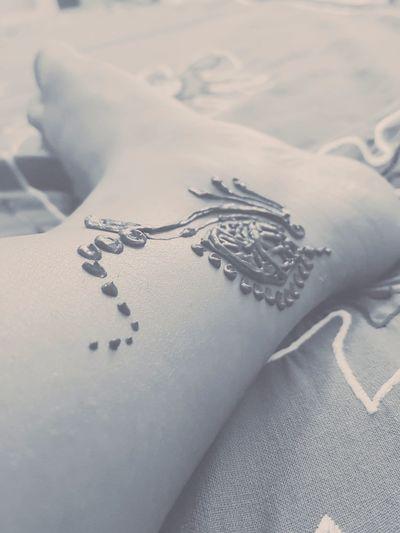 mehendi Mehendi Mehendi Art Tattoo Tattoos Toes Tsttoontoe Leisure Activity Home Melbourne Myself Happy Pastel Colored Winter No People Close-up Indoors  Day Love Yourself