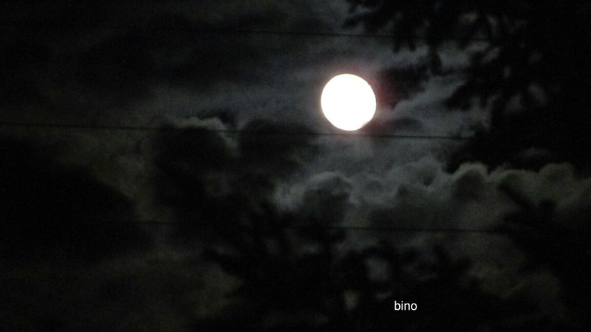 Full Moon Cloudy Night Sky Kinda Cool Looking Up 2am & Sleepless Cadillac Sky Pure Michigan