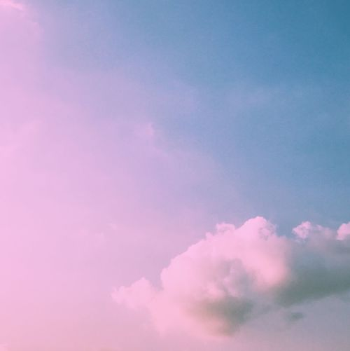 Sky Low Angle View Cloud - Sky Nature Beauty In Nature Tranquility Heaven Idyllic Backgrounds Sky Only No People Scenics Outdoors Tranquil Scene Day Pink