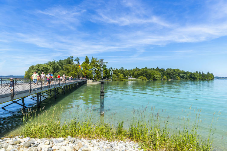 Insel Mainau, Konstanz, Germany Baden-Württemberg  Church Family Family❤ Fountain Lake Constance Nature Vacations Bodensee Flower Germany Insel Mainau Landscape Rosé Vacation