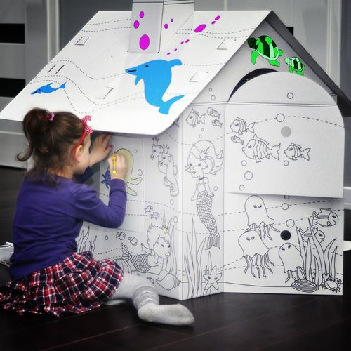 Children Girl Multi Colored