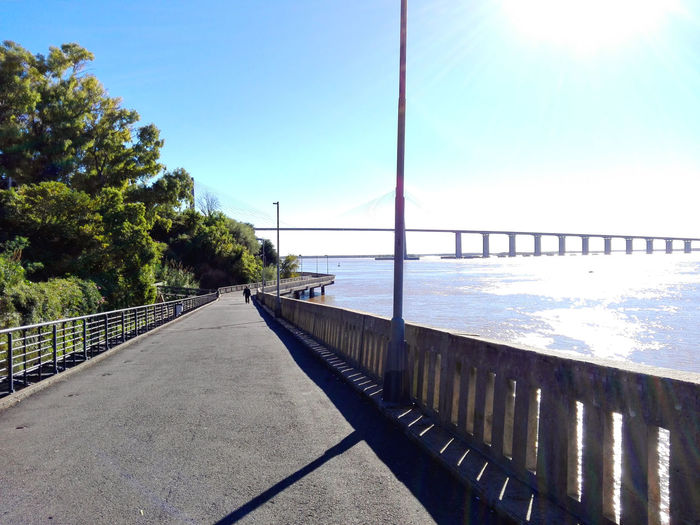 Water Sky Horizon Over Water Puente Puente Rosario Victoria Architecture City Arquitecture Rosario Tranquil Scene Hello World Huawei P8 Lite PhonePhotography Phoneography Argentina Photography First Eyeem Photo Rio Paraná♥ Rosario Argentina Rio Paraná Sunny Bridge - Man Made Structure Tranquility Built Structure